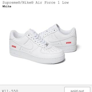 Supreme - Supreme Nike Air Force 1 Lowシュプリーム 26.5