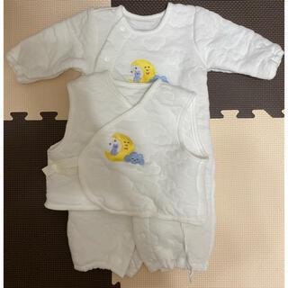 アカチャンホンポ(アカチャンホンポ)のツーウェイオール ベビー服 ホワイト(カバーオール)