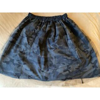 アーバンリサーチ(URBAN RESEARCH)の美品 URBANRESEARCH チュールスカート (ひざ丈スカート)