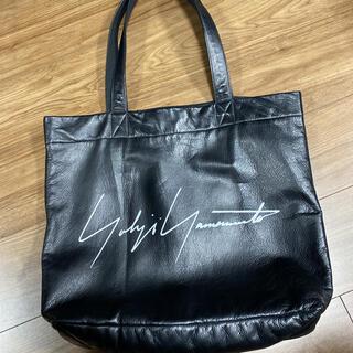 Yohji Yamamoto - ヨウジヤマモト ノベルティーカウレザートートバッグ