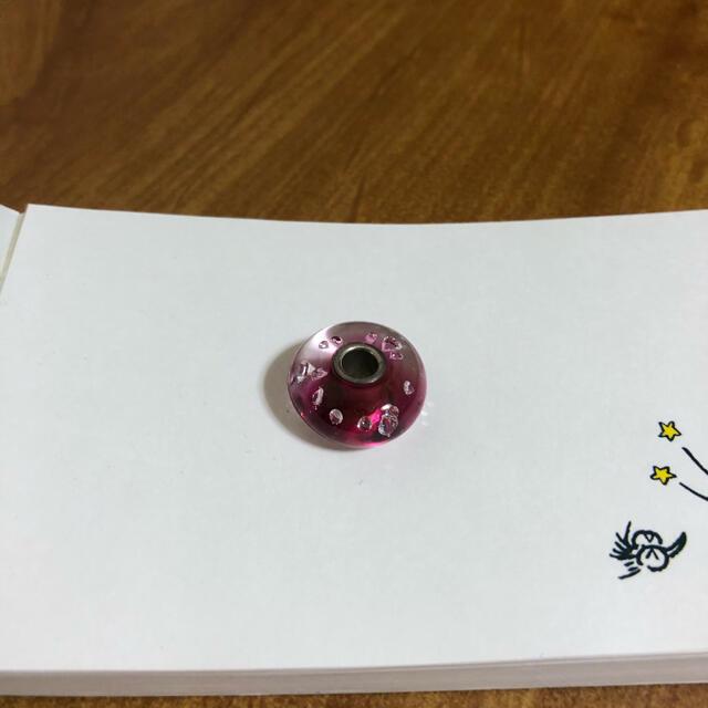 トロールビーズ正規品ピンクダイアモンド レディースのアクセサリー(ブレスレット/バングル)の商品写真