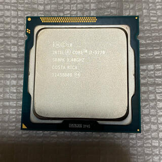 インテレクション(INTELECTION)のCPU core i7-3770 INTEL インテル(PCパーツ)