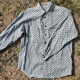 Maison Martin Margiela - 価格改定ヨーロッパビンテージ70sパジャマ幾何学模様シャツ90s80s60s