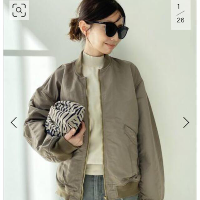 L'Appartement DEUXIEME CLASSE(アパルトモンドゥーズィエムクラス)の☆ REMI RELIEF/レミレリーフ Side Zip MA-1 レディースのジャケット/アウター(ブルゾン)の商品写真