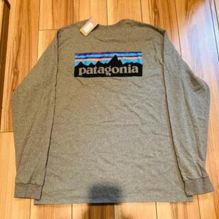 patagonia - パタゴニア   p6   ロンt   グレー Mサイズ 新品未使用