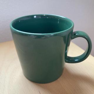 イッタラ(iittala)のにへいさま専用!廃盤 貴重 イッタラ フォレストグリーン マグカップ(グラス/カップ)