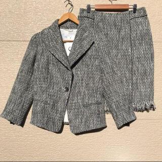 マックスマーラ(Max Mara)の新品 MAXMARA マックスマーラ スーツ ツイード 国内正規 セットアップ(スーツ)