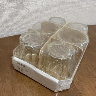 イケア(IKEA)のイケア POKAL 15cl  コップ 6個セット(グラス/カップ)