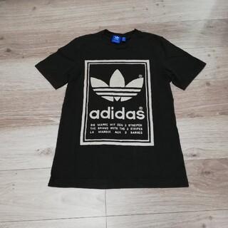 adidas - adidas アディダス トレフォイル Tシャツ でかロゴ 人気 定番 XS