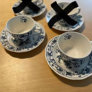 ニッコー(NIKKO)の【販売終了品】NIKKO コーヒーカップ&ソーサー 5客セット(グラス/カップ)