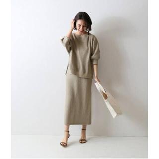 フレームワーク(FRAMeWORK)の新品♡上下セット販売♡フレームワーク♡ラゲットリブトップス&スカート♡(セット/コーデ)