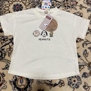 しまむら - 半袖Tシャツ しまむら スヌーピー 90 チャーリーブラウン ウッドストック