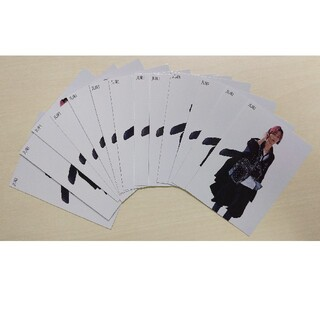 SixTONES 田中樹 Myojo厚紙カード 13枚セット(アイドルグッズ)