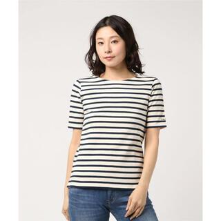アーペーセー(A.P.C)のA.P.C.*ロゴ刺繍ボーダーTシャツ*アーペーセー(Tシャツ(半袖/袖なし))
