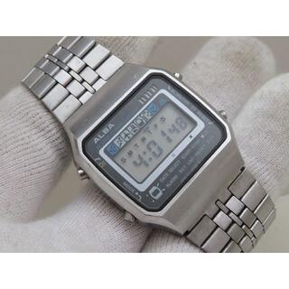 SEIKO - ALBA デジタル腕時計 Y749-5070 アラームクロノグラフ