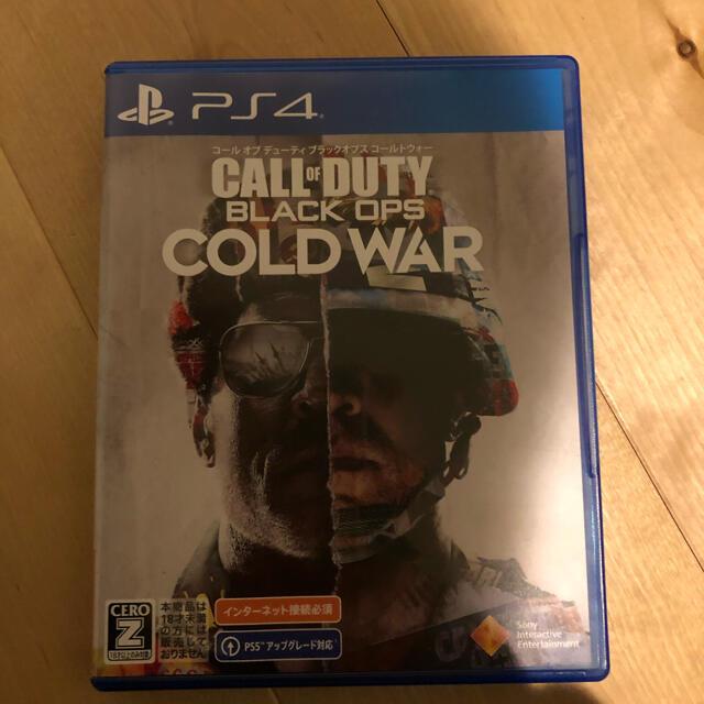PlayStation4(プレイステーション4)のCALL OF DUTY BLACK OPS COLD WAR PS4 エンタメ/ホビーのゲームソフト/ゲーム機本体(家庭用ゲームソフト)の商品写真