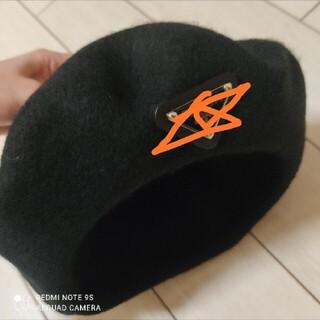PRADA - ベレー帽 ブラック 黒 キャップ