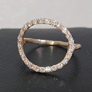 カオル(KAORU)のKAORU ラウンドフルダイヤモンドリング(リング(指輪))