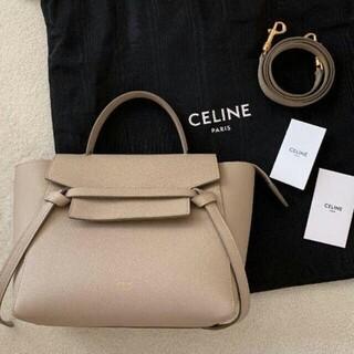 セリーヌ(celine)のCELINE ベルトバッグ ナノ / グレインドカーフスキン(その他)