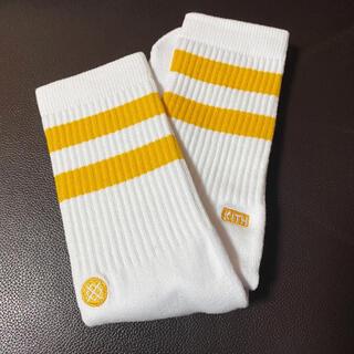 STANCE KITH コラボ ソックス 靴下 イエロー 25.5-29 cm(ソックス)