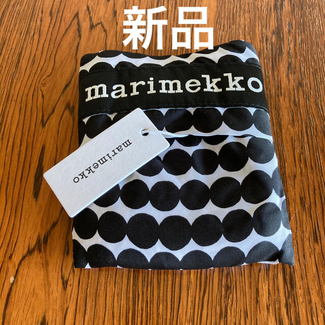 marimekko(マリメッコ)の新品 マリメッコ marimekko エコバッグ ドット レディースのバッグ(エコバッグ)の商品写真