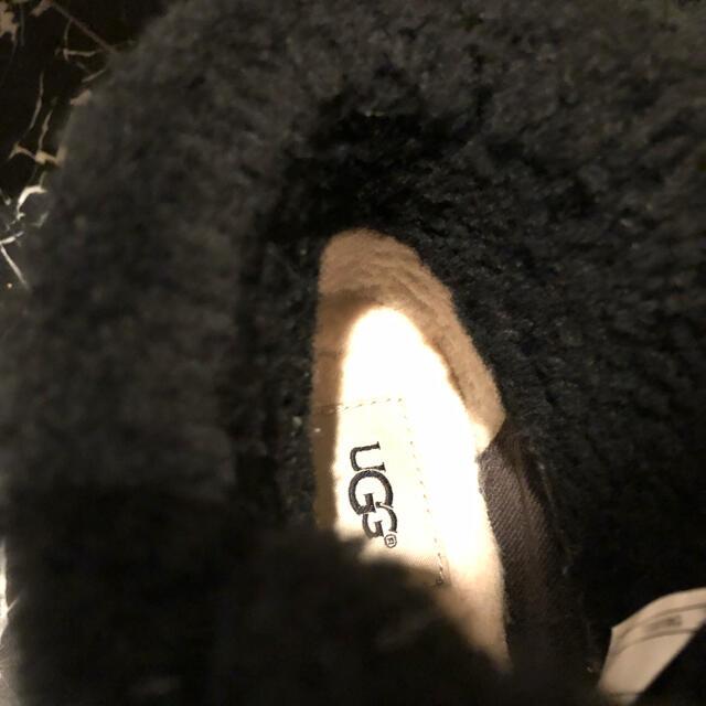 UGG(アグ)のUGGオーストラリアJEOVANAジョバナブーティウェッジムートンブーツ黒38 レディースの靴/シューズ(ブーツ)の商品写真