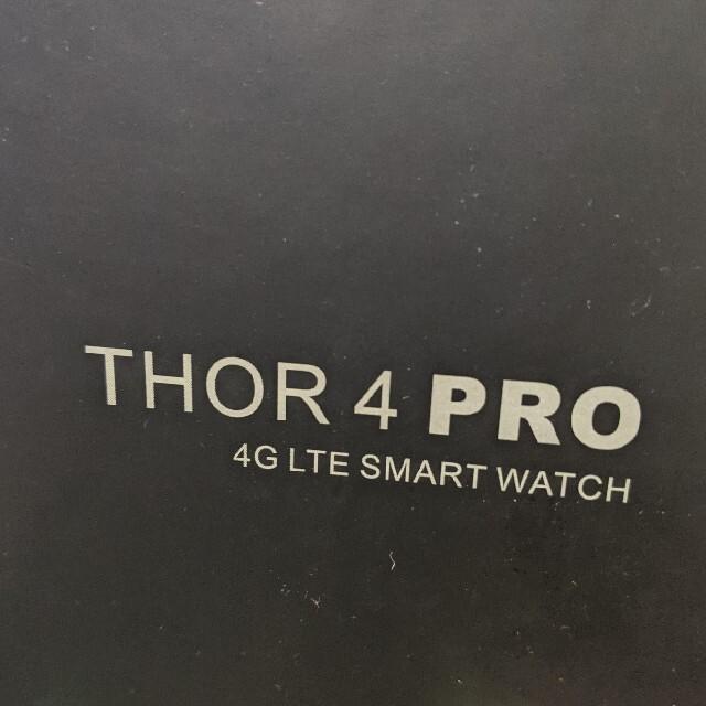 Thor 4 PRO スマートウォッチ 値下げ中! メンズの時計(腕時計(デジタル))の商品写真