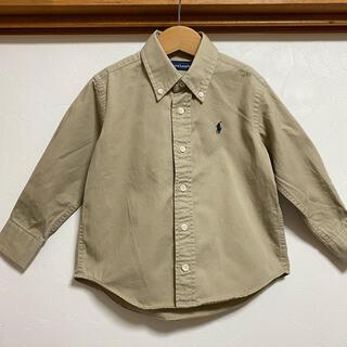 Ralph Lauren - 美品 ラルフローレン 100 チノシャツ 長袖シャツ ボタンダウン チノ