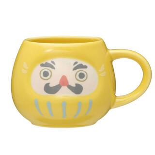 Starbucks Coffee - 2021完売レア!スターバックス だるま イエロー マグカップ