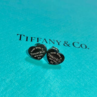 Tiffany & Co. - Tiffany ❤︎ ピアス シルバー