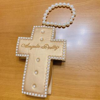 アンジェリックプリティー(Angelic Pretty)のAngelic Pretty Milky cross バッグ ゴールド(ショルダーバッグ)
