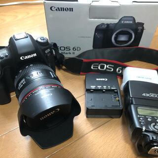 Canon - Canon EOS 6D MARK2 ボディ レンズ付き ストロボ付き