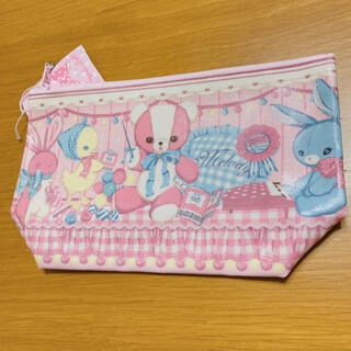 アンジェリックプリティー(Angelic Pretty)のAngelic Pretty Melody toys ポーチ ピンク 新品送料込(ポーチ)