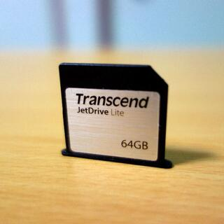 トランセンド(Transcend)のTranscend JetDrive Lite 350 64GB(PC周辺機器)