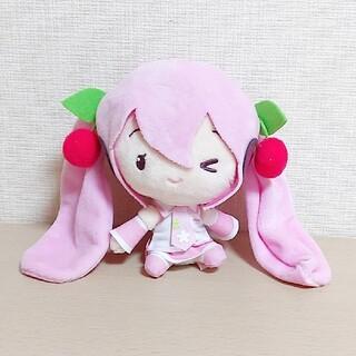 【新品タグ付】初音ミク 桜ミク Cuteぬいぐるみ(ぬいぐるみ)
