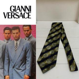 ジャンニヴェルサーチ(Gianni Versace)のGIANNI VERSACE VINTAGE 90s イタリア製 シルクネクタイ(ネクタイ)