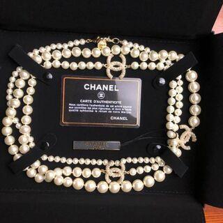 CHANEL - CHANEL パール ネックレス ロングネックレス