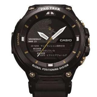 カシオ(CASIO)の限定モデル カシオ プロトレック WSD-F20SC-BK(腕時計(デジタル))