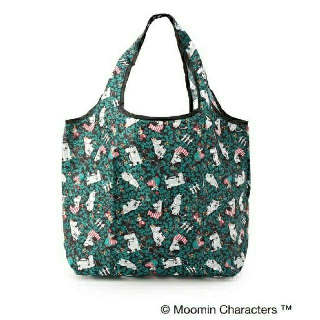 MOOMIN くるくるショッピングバッグ/エコバッグ レディースのバッグ(エコバッグ)の商品写真