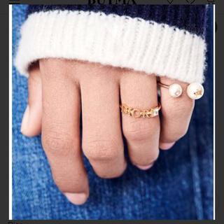 クリスチャンディオール(Christian Dior)の新品未使用 dior ディオール リング 指輪 レボリューションリング(リング(指輪))