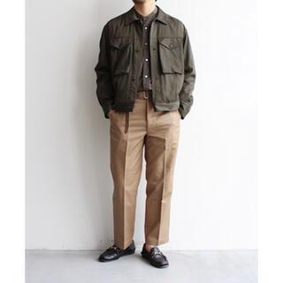 COMOLI - 新品 Blurhms Rayon Cotton Short Jacket 3