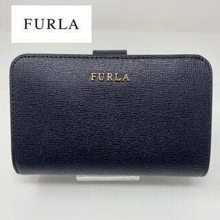 Furla - FURLA フルラ 二つ折り財布 ブラック 黒 ベルト