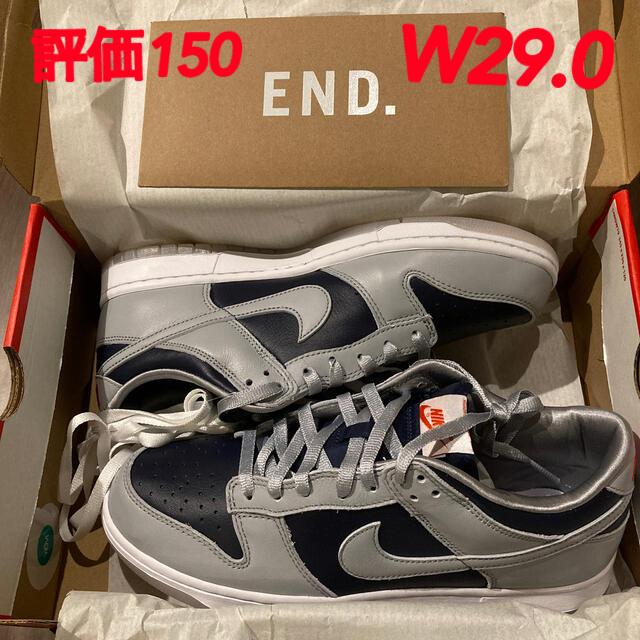 NIKE(ナイキ)の29.0 Nike WMNS DUNK LOW COLLEGE NAVY 新品 レディースの靴/シューズ(スニーカー)の商品写真