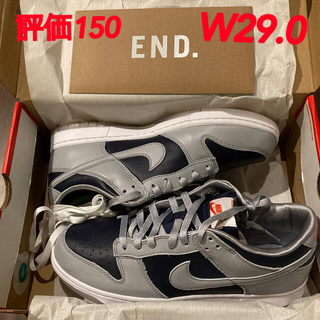 NIKE - 29.0 Nike WMNS DUNK LOW COLLEGE NAVY 新品