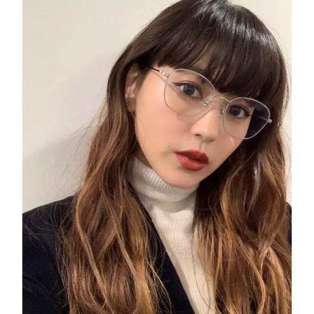 Zoff(ゾフ)のZoff 菅沼ゆり コラボメガネ レディースのファッション小物(サングラス/メガネ)の商品写真