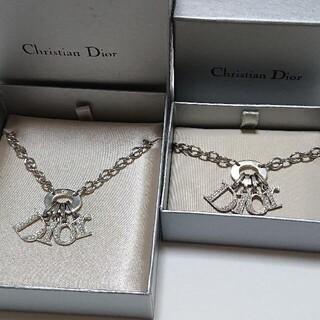 クリスチャンディオール(Christian Dior)の【美品】Christian Dior ネックレス ブレスレット セットChri(ネックレス)
