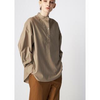 フローレント(FLORENT)のflorent band collar blouse(シャツ/ブラウス(長袖/七分))