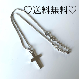 クリスチャンディオール(Christian Dior)のDior クリスチャン ディオール シルバー 十字架 形 人気 (ネックレス)