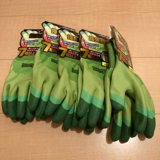 格安【5セット】作業用手袋 Mサイズ グリーン