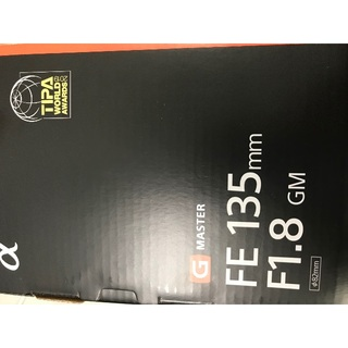 SONY - 新品未使用 FE 135mm F1.8 GM SEL135F18GM
